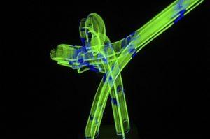 Neonkunst auf der Revierkunst